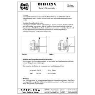 Einbau- und Montagehinweise Seite 1