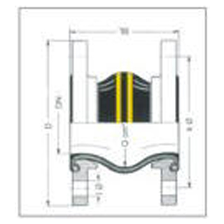 Gummikompensator Typ GS