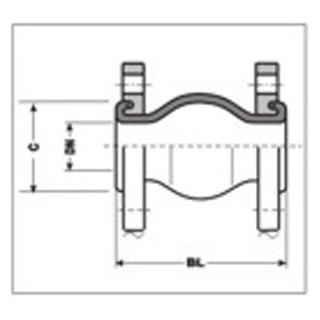 Gummikompensator Typ 1B