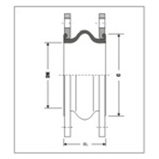 Gummikompensator Typ 1C